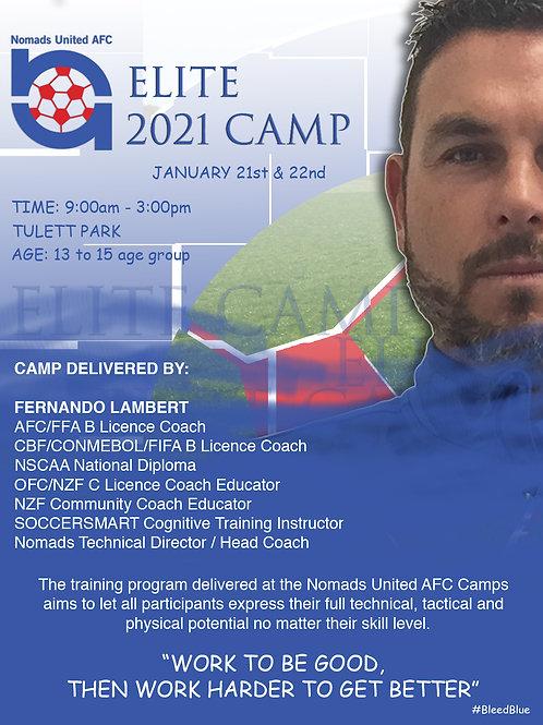 Elite Holiday Camp - U13/14/15