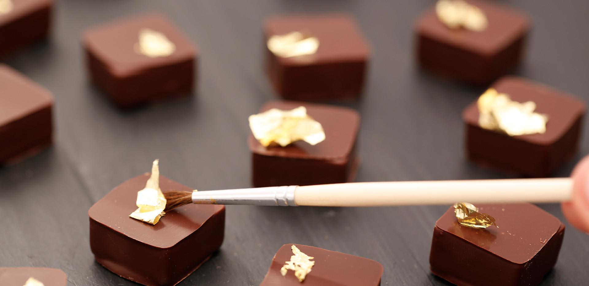 Gold Chocolate Bon Bon