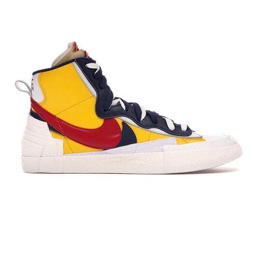 Nike x Sacai Blazer Yellow