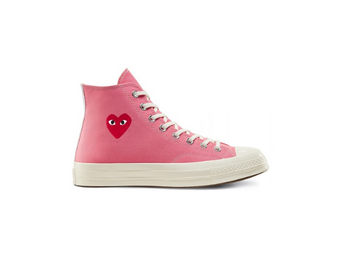 Converse Chuck Taylor All-Star 70s Hi Comme des Garcons Play - Pink