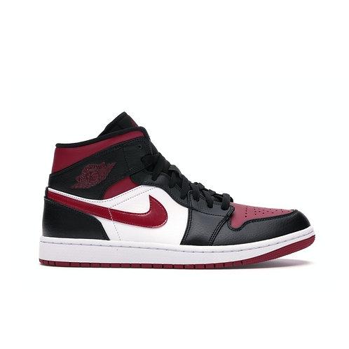 Jordan 1 Mid Bred Toe