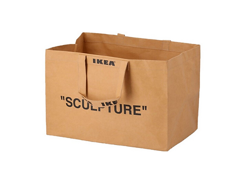 Virgil Abloh x Ikea Markerad Medium Bag Brown