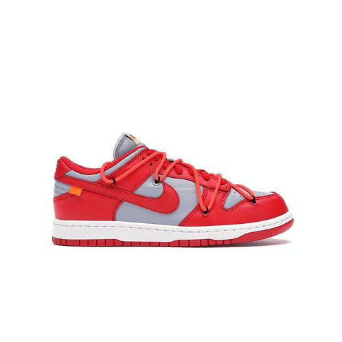 Nike - Dunk Low Off-White University Red