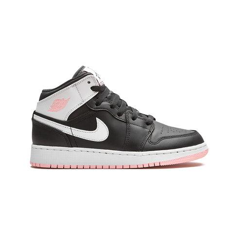 Jordan 1 Mid Arctic Pink Black (GS)