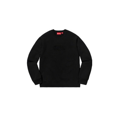 Supreme Cut Out Logo Crewneck