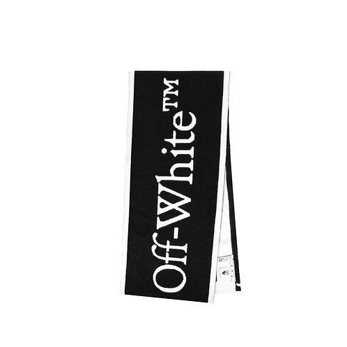 Sciarpa Off-White lana jaquard logo