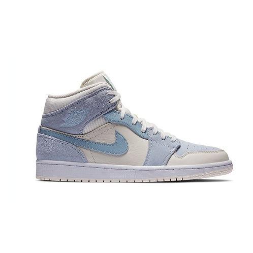 Jordan 1 Mid Mixed Textures Blue