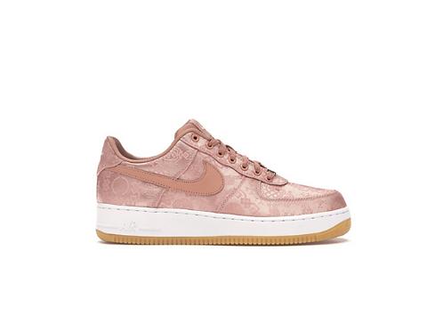 Nike x Clot - Air Force 1 Rose Gold Silk