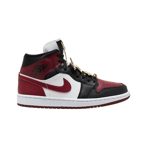 Jordan 1 Mid SE Black Dark Beetroot (W)
