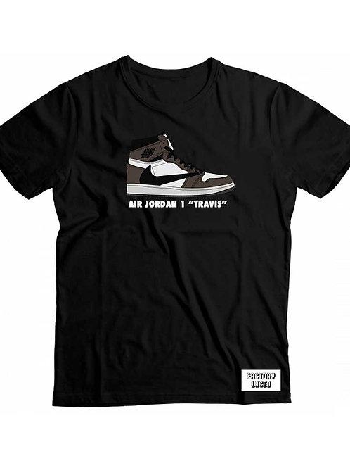 Air Jordan 1 Travis Scott - Factory Laced