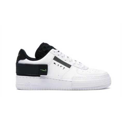 Nike Air Force 1 Type White Volt