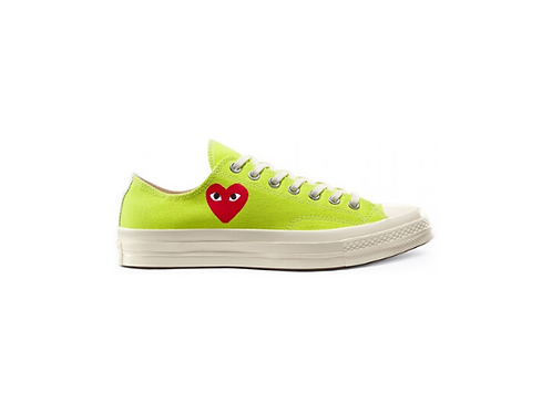 Converse Chuck Taylor All-Star 70s Low Comme des Garcons Play - Fluo