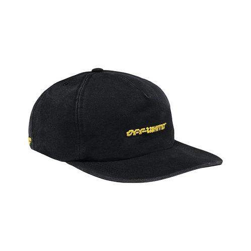 Off-White cap black & yellow