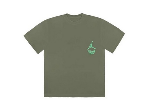 Travis Scott - Jordan Cactus Jack Highest Tee Olive