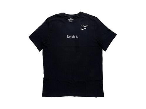 Nike x Virgil Abloh x Serena Tee Black
