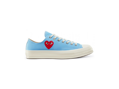 Converse Chuck Taylor All-Star 70s Low Comme des Garcons Play - Bright Blue