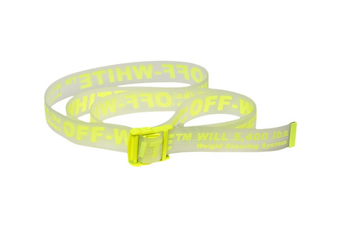 Off-White - Rubber Industrial Belt