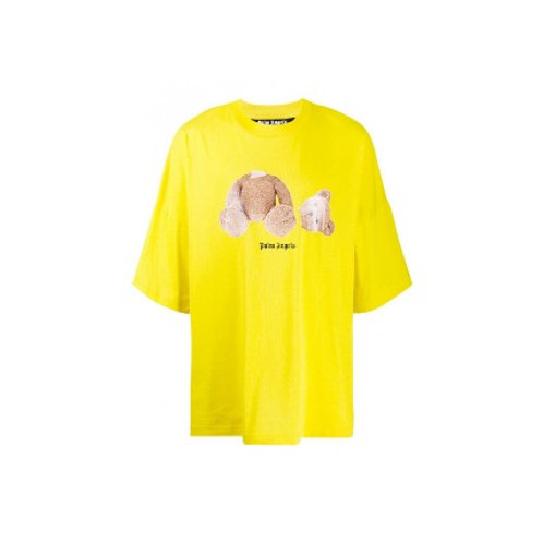 Palm Angels Teddy Tee Yellow