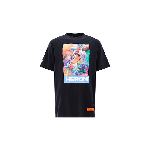 Heron Presto Graphic Tee Black
