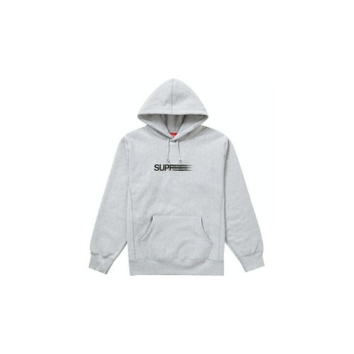 Supreme Motion Logo Hooded Sweatshirt Grey