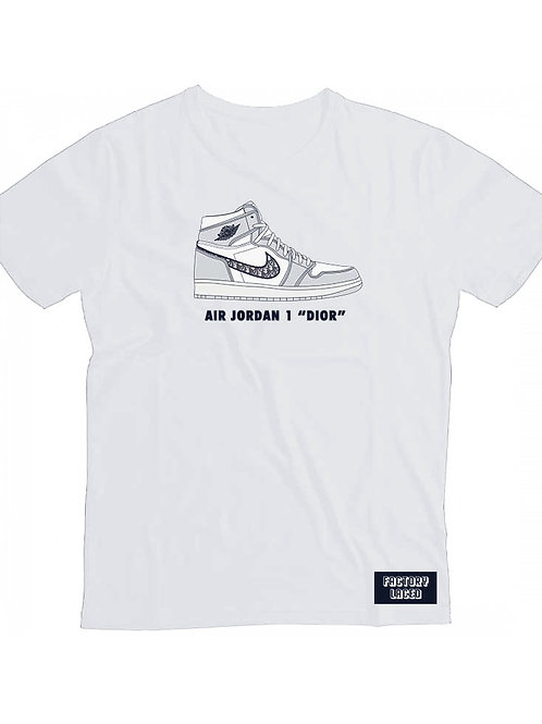 Air Jordan 1 Dior - Factory Laced