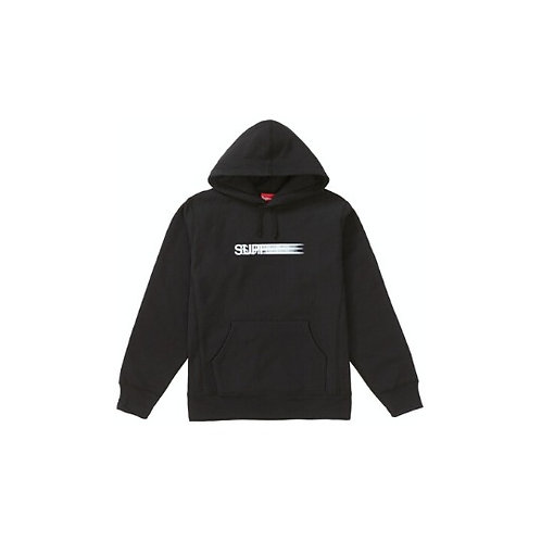 Supreme Motion Logo Hooded Sweatshirt Black