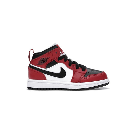 Jordan 1 Mid Chicago Toe (PS)