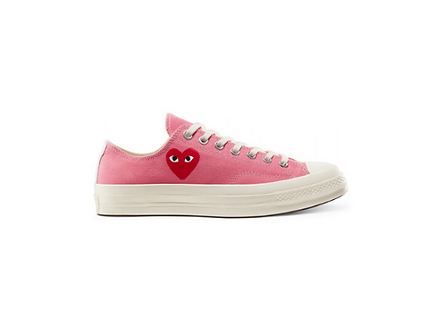 Converse Chuck Taylor All-Star 70s Low Comme des Garcons Play - Pink