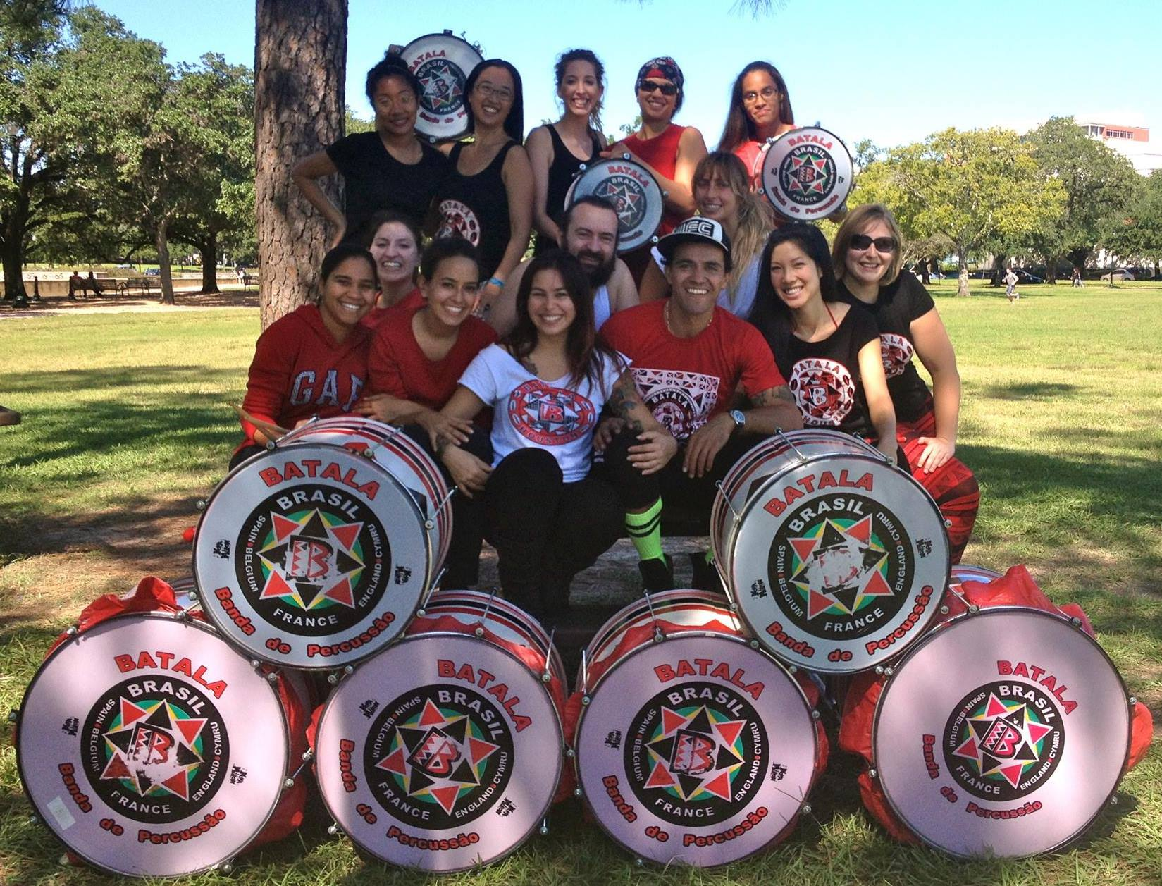 Batala Houston at rehearsal