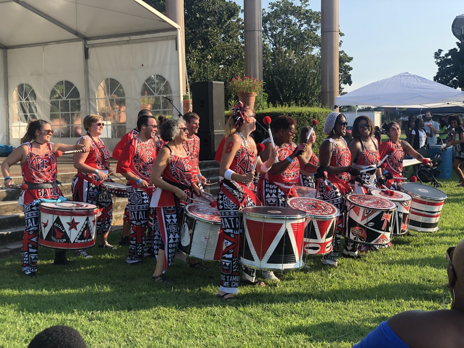 Batala Houston at AfriFest 2019
