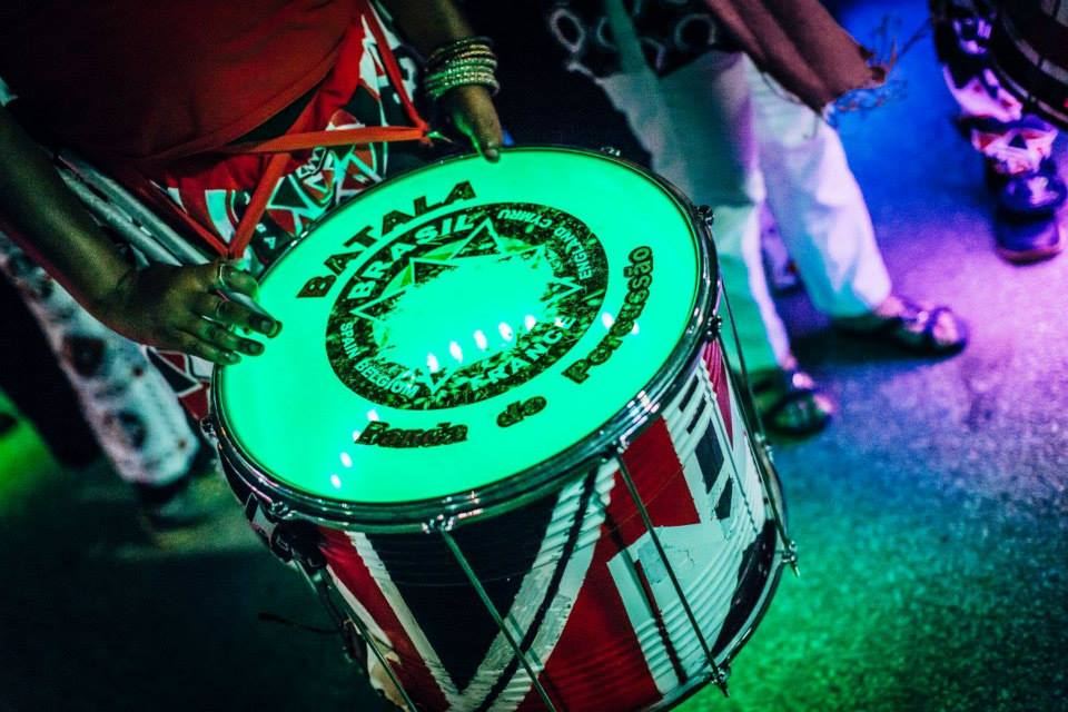 Light-up drums!