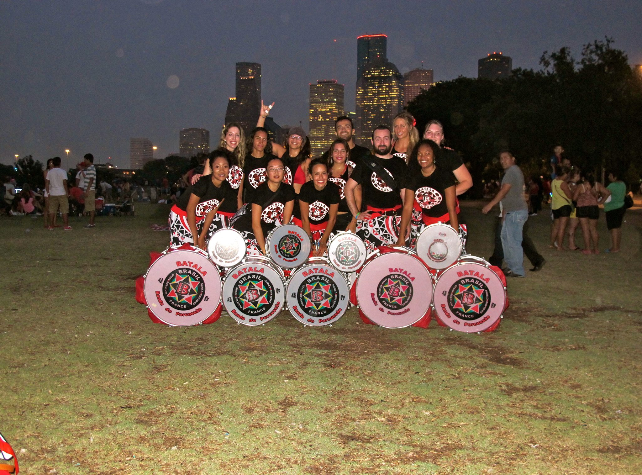 Batala Houston at night