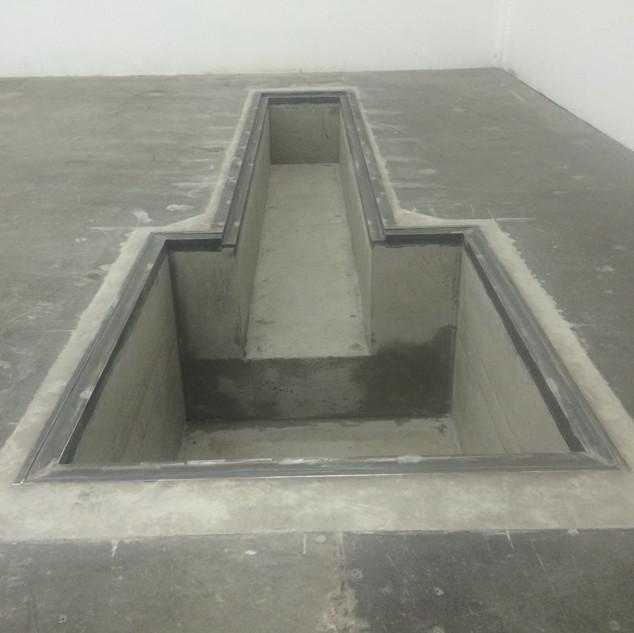 Slab Concrete Pit