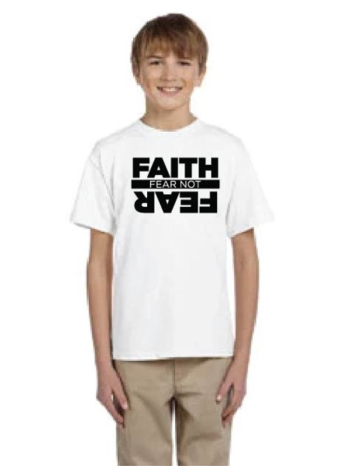 Youth Faith over Fear Gildan Tee