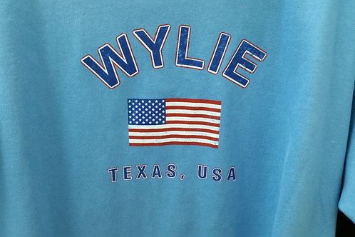 Stone Blue Wylie Texas USA Tee