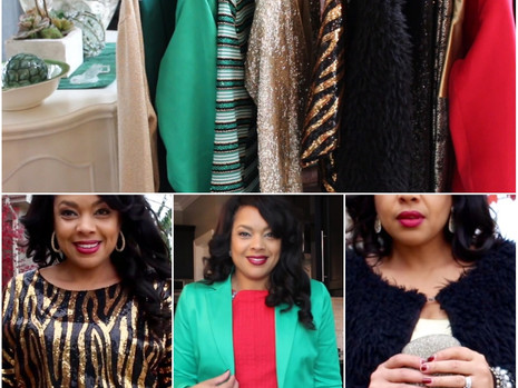 Holiday Style Guide | 5 Holiday Outfit Ideas + Lookbook