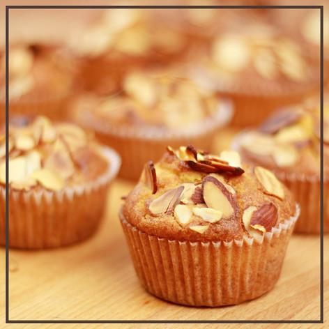 Almond Orange Cranberry Muffins