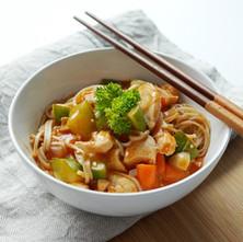 Chicken Tomato Noodles