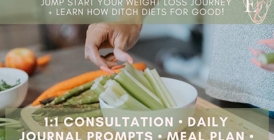 14-DAY DITCH THE DIET CHALLENGE!