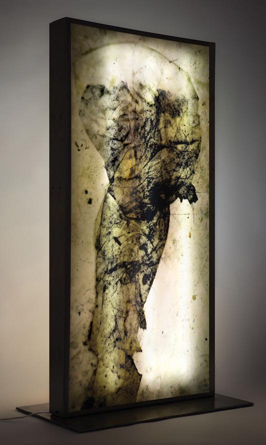 Mur lumiere print, 2007
