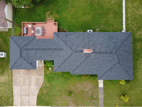 Completed Replacement - Charcoal Shingle