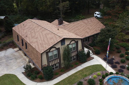 Beautiful Roof Replacement done in Pelham, Alabama