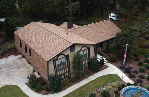 Beautiful Roof Replacement done in Pelham, Alabama