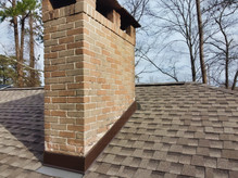 New Chimney Flashing and Roof Replacement