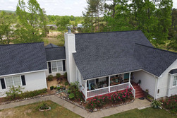 Finished Replacement - Charcoal Shingles