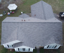 Ariel View Roof Replacement