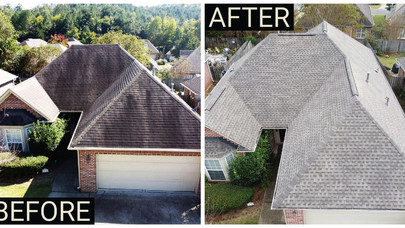 Birmingham Roofs - New Roof Replacement - Drone Footage