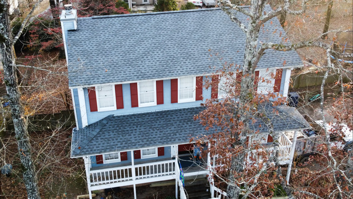Drone Footage of roof replacement in Alabaster, AL