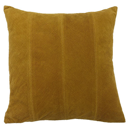 Mustard Corduroy Effect 'Jagger' Cushion
