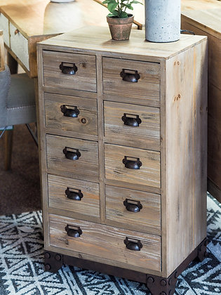 Small Industrial Inspired Wooden Drawers